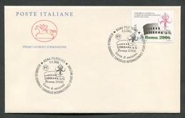 FDC ITALIA 2006 - CAVALLINO - ASSEMBLEA CONSIGLIO INTERNAZIONALE SPORT MILITARE - 380 - 6. 1946-.. Repubblica