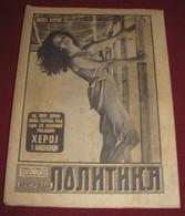 Michele Mercier ILUSTROVANA POLITIKA Yugoslavian November 1966 RARE - Books, Magazines, Comics