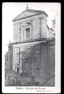 VETRALLA - VITERBO - 1916  - FACCIATA DEL DUOMO - ANIMATISSIMA! - Viterbo