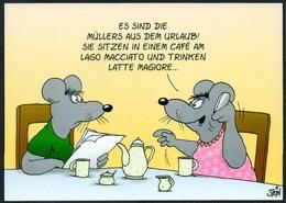 C4739 - TOP Uli Stein - Humor Scherzkarte - Maus Mäuse Cafe - Humor