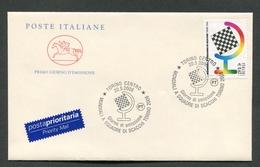 FDC ITALIA 2006 - CAVALLINO - MONDIALI A SQUADRE DI SCACCHI TORINO 2006 - 381 - F.D.C.