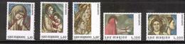 SAN MARINO 1975 Holy Year-Frescoes By Giotto Scott Cat. No(s). 860-864 MNH - San Marino