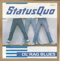 "7"" Single, Status Quo, Ol' Rag Blues - Rock"