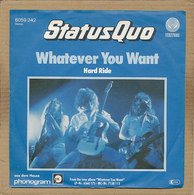 """7"""" Single, Status Quo, Whatever You Want - Rock"""