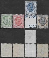 Italia Italy 1926 Regno Floreale Effigie Sa N.200-203 Completa Nuova Integra MNH ** - Nuovi