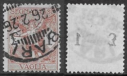 Italia Italy 1924 Regno Segnatasse Per Vaglia L1 Decalco Cifra Sa N.SV4 US - 1900-44 Vittorio Emanuele III