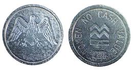 00083  GETTONE TOKEN JETON GAMING MMC MILANI ITALY MAGGI CONIATURE EAGLE - Italy