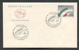 FDC ITALIA 2006 - CAVALLINO - ANNIVERSARIO ASSEMBLEA COSTITUENTE - GENOVA - 383 - 6. 1946-.. Repubblica