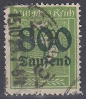 DR 301 A, Gestempelt, Geprüft - Infla