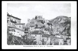ROCCASINIBALDA - RIETI - INIZI 900 - PANORAMA - Rieti
