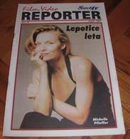 Michelle Pfeiffer - REPORTER Serbian August 1996 VERY RARE - Books, Magazines, Comics