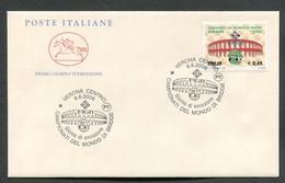 FDC ITALIA 2006 - CAVALLINO - CAMPIONATI DEL MONDO DI BRIDGE - 385 - 6. 1946-.. Repubblica