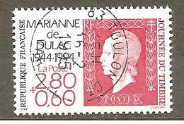 FRANCE 1994 Y T N ° 2863 Oblitéré - France