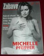 Michelle Pfeiffer VREME ZABAVE February 1996 VERY RARE - Magazines