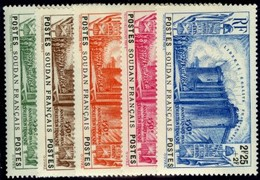 French Sudan. Sc #B2-B6. Semi-Postals. Mint. VF. - Sudan (1894-1902)