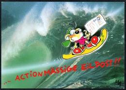 C4746 - TOP Monkey Business - Comic Cartoon - Cactus - Comicfiguren