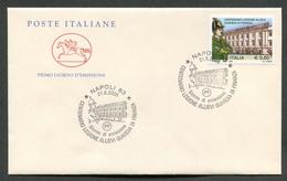 FDC ITALIA 2006 - CAVALLINO - CENTENARIO LEGIONE ALLIEVI GUARDIA DI FINANZA - NAPOLI - 388 - 6. 1946-.. Repubblica