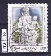 ITALIA REPUBBLICA   2000, Della Robbia, Usato - 6. 1946-.. Repubblica