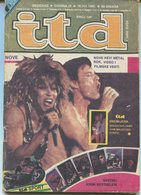 Mick Jagger & Tina Turner - ITD Yugoslavian August 1985 EXTREMLY RARE - Magazines