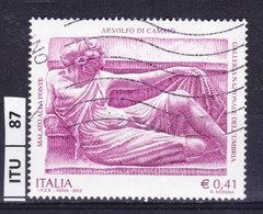 ITALIA REPUBBLICA   2002, Arnolfo Di Cambio, Usato - 6. 1946-.. Repubblica