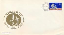 Romania 1971 FDC Moon Landing By Apollo 14 - FDC & Commemorrativi
