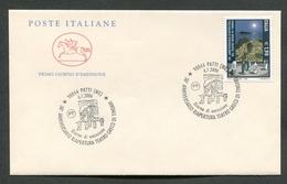 FDC ITALIA 2006 - CAVALLINO - ANNIVERSARIO RIAPERTURA TEATRO GRECO DI TINDARI - 390 - 6. 1946-.. Repubblica