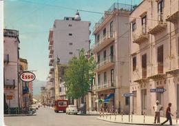 105-Termini Imerese-Via V.Emanuele-Auto-Benzina Esso-Indicazione Roccapalumba E Palermo-v.1970 X Catania - Palermo