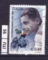 ITALIA REPUBBLICA   2002, Alfredo Binda, Usato - 6. 1946-.. Repubblica