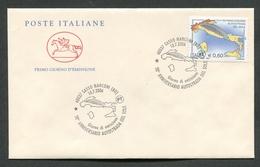 FDC ITALIA 2006 - CAVALLINO - 50° ANNIVERSARIO AUTOSTRADA DEL SOLE - 391 - 6. 1946-.. Repubblica