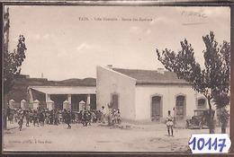 10117 MAROC  AK PC CPA  TAZA VILLE NOUVELLE SORTIE DES ECOLIERS - Marocco