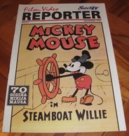 Mickey Mouse In Steamboat Willie - REPORTER Serbian November 1998 VERY RARE - Books, Magazines, Comics
