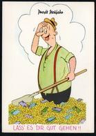 C4753 - TOP Humor Scherzkarte - Neujahr Silvester Künstlerkarte - Zoecke Humor - Humor