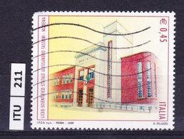 ITALIA REPUBBLICA  2006, Liceo Tassoni, Usato - 6. 1946-.. Repubblica