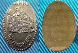 03593 GETTONE TOKEN JETON MUNCHEN - Elongated Coins