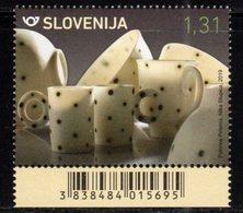 SLOVENIA , 2019, MNH, ARTS AND CRAFTS IN SLOVENIA, PORCELAIN,1v - Porcelain