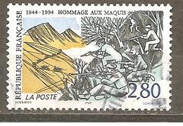FRANCE 1994 Y T N ° 2876 Oblitéré - France
