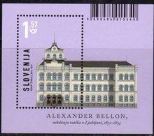 SLOVENIA , 2019, MNH, ARCHITECTURE, S/SHEET - Architecture