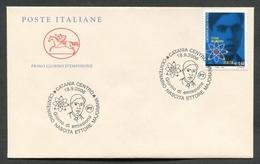 FDC ITALIA 2006 - CAVALLINO - ANNIVERSARIO NASCITA ETTORE MAJORANA - CATANIA - 397 - 6. 1946-.. Repubblica