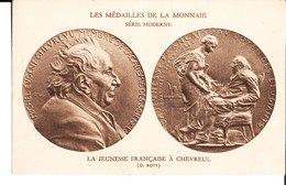 Les Médailles De La Monnaie. Série Moderne. La Jeunesse Française à Chevreul. O. Roty. - Monnaies (représentations)