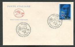 FDC ITALIA 2006 - CAVALLINO - ANNIVERSARIO NASCITA ETTORE MAJORANA - TORINO - 398 - 6. 1946-.. Repubblica