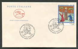 FDC ITALIA 2006 - CAVALLINO - ANNIVERSARIO SCOMPARSA SANT'IGNAZIO DI LOYLA - 400 - 6. 1946-.. Repubblica
