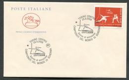 FDC ITALIA 2006 - CAVALLINO - CAMPIONATI DEL MONDO DI SCHERMA - TORINO 2006 - 401 - 6. 1946-.. Repubblica