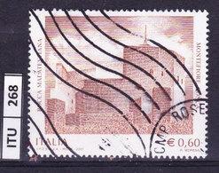 ITALIA REPUBBLICA  2007, Rocca Malatestiana, Usato - 6. 1946-.. Repubblica
