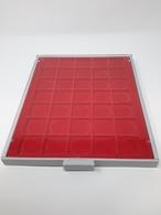 LINDNER Münzbox 2135 Standard 35 Quadratische Fächer 36 Mm, Gebraucht (Z666) - Zubehör