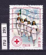 ITALIA REPUBBLICA  2008, Corpo Infermiere Volontarie, Usato - 6. 1946-.. Repubblica