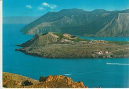 71-Isole Eolie-Vulcano-Messina-Cratere Visto Dall' Aereo X Catania - Messina
