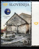 SLOVENIA , 2019, MNH, TOURISM, STANJE, ARCHTECTURE, 1v - Other