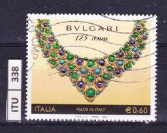 ITALIA REPUBBLICA  2009, Bulgari, Usato - 6. 1946-.. Repubblica