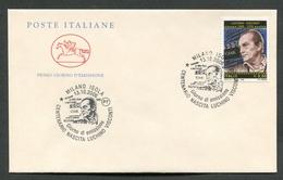 FDC ITALIA 2006 - CAVALLINO - ANNIVERSARIO NASCITA LUCHINO VISCONTI - MILANO - 406 - 6. 1946-.. Repubblica