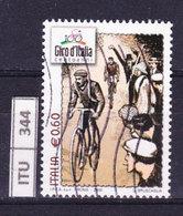 ITALIA REPUBBLICA  2009, Giro D'Italia, Usato - 6. 1946-.. Repubblica
